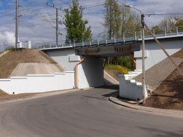 Geležinkelio viaduko kryptyje Vilnius - Kena 8-411 km kapitalinio remonto darbai
