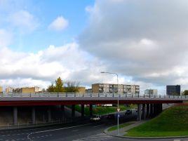 Pietinio aplinkkelio viaduko virš Naugarduko gatvės statyba