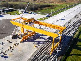Vilniaus intermodalinio terminalo pokraninio kelio įrengimas