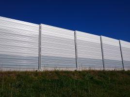 Žiežmarių dviejų lygių sankryžos triukšmo sienos A1 kelyje