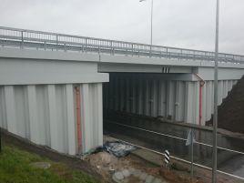 Žiežmarių dviejų lygių sankryžos viadukas A1 kelyje
