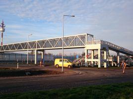Žiežmarių dviejų lygių sankryžos pėsčiųjų viadukas A1 kelyje