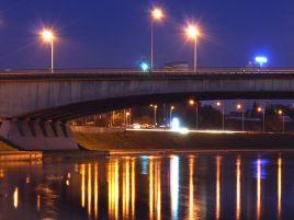 Reconstruction of the Geležinis Vilkas bridge in Vilnius