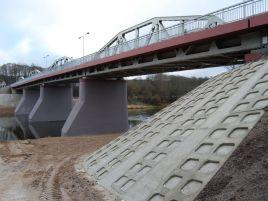 Reconstruction of metal bridge in Nemenčinė over the river Neris