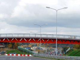 Construction of southern bypass pedestrians viaduct